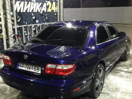 Синий Мазда Кседос 9, объемом двигателя 2.5 л и пробегом 185 тыс. км за 4900 $, фото 1 на Automoto.ua