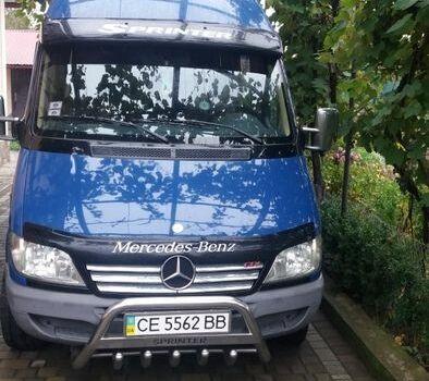 Синий Мерседес 230, объемом двигателя 2 л и пробегом 168 тыс. км за 15000 $, фото 1 на Automoto.ua