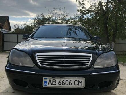 Черный Мерседес 320, объемом двигателя 3.2 л и пробегом 1 тыс. км за 7500 $, фото 1 на Automoto.ua