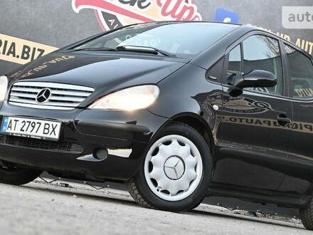 Черный Мерседес А 140, объемом двигателя 1.4 л и пробегом 167 тыс. км за 5299 $, фото 1 на Automoto.ua