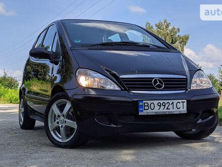 Чорний Мерседес А 140, об'ємом двигуна 1.4 л та пробігом 200 тис. км за 4400 $, фото 1 на Automoto.ua