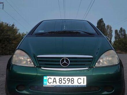 Зеленый Мерседес А 140, объемом двигателя 1.4 л и пробегом 267 тыс. км за 4500 $, фото 1 на Automoto.ua