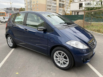 Синій Мерседес А 150, об'ємом двигуна 1.5 л та пробігом 179 тис. км за 6950 $, фото 1 на Automoto.ua