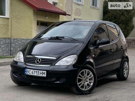 Черный Мерседес А 170, объемом двигателя 1.7 л и пробегом 249 тыс. км за 4850 $, фото 1 на Automoto.ua