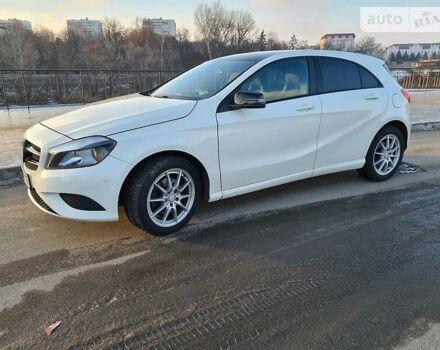Белый Мерседес А 180, объемом двигателя 1.6 л и пробегом 79 тыс. км за 17600 $, фото 1 на Automoto.ua