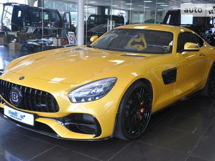 Желтый Мерседес AMG GT S, объемом двигателя 0 л и пробегом 10 тыс. км за 150000 $, фото 1 на Automoto.ua