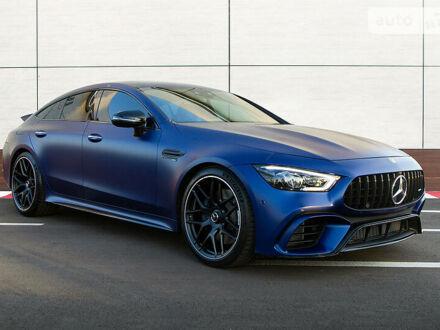 Синий Мерседес AMG GT, объемом двигателя 4 л и пробегом 6 тыс. км за 180000 $, фото 1 на Automoto.ua