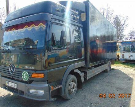 Черный Мерседес Атего, объемом двигателя 6.4 л и пробегом 1 тыс. км за 0 $, фото 1 на Automoto.ua