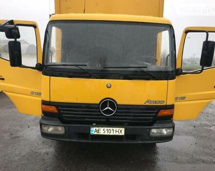 Желтый Мерседес Атего, объемом двигателя 4.3 л и пробегом 545 тыс. км за 12500 $, фото 1 на Automoto.ua