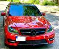 Червоний Мерседес Ц 250, об'ємом двигуна 1.8 л та пробігом 135 тис. км за 15300 $, фото 1 на Automoto.ua
