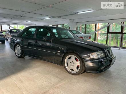 Черный Мерседес Ц 280, объемом двигателя 2.8 л и пробегом 15 тыс. км за 29900 $, фото 1 на Automoto.ua