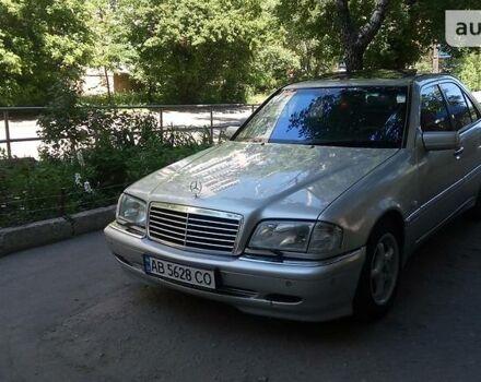 Срібний Мерседес Ц 280, об'ємом двигуна 2.4 л та пробігом 260 тис. км за 6300 $, фото 1 на Automoto.ua