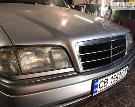 Серый Мерседес Ц 280, объемом двигателя 1.8 л и пробегом 2 тыс. км за 3450 $, фото 1 на Automoto.ua
