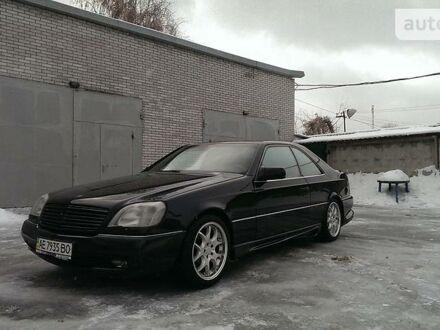 Черный Мерседес ЦЛ 500, объемом двигателя 5 л и пробегом 225 тыс. км за 12900 $, фото 1 на Automoto.ua