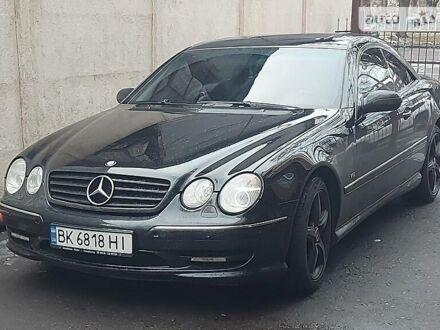 Черный Мерседес ЦЛ 55 АМГ, объемом двигателя 5.5 л и пробегом 198 тыс. км за 13700 $, фото 1 на Automoto.ua