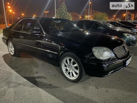 Черный Мерседес ЦЛ 600, объемом двигателя 6 л и пробегом 250 тыс. км за 15000 $, фото 1 на Automoto.ua