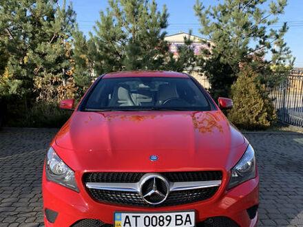 Червоний Мерседес ЦЛА 220, об'ємом двигуна 2.2 л та пробігом 97 тис. км за 21500 $, фото 1 на Automoto.ua