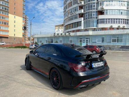 Черный Мерседес ЦЛА 45 АМГ, объемом двигателя 2 л и пробегом 90 тыс. км за 33000 $, фото 1 на Automoto.ua