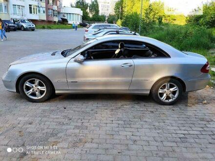 Сірий Мерседес ЦЛК 270, об'ємом двигуна 2.7 л та пробігом 288 тис. км за 6500 $, фото 1 на Automoto.ua