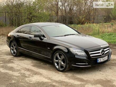 Черный Мерседес ЦЛС 350, объемом двигателя 3 л и пробегом 201 тыс. км за 28000 $, фото 1 на Automoto.ua