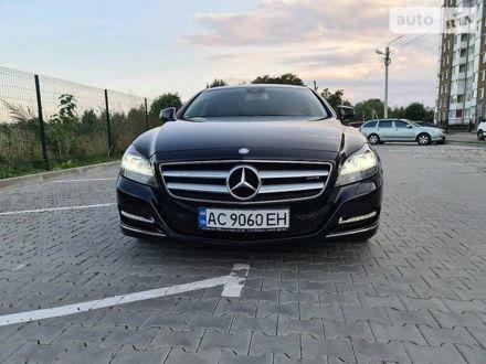 Черный Мерседес ЦЛС 350, объемом двигателя 3 л и пробегом 291 тыс. км за 21900 $, фото 1 на Automoto.ua