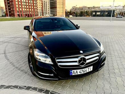 Черный Мерседес ЦЛС 350, объемом двигателя 3 л и пробегом 167 тыс. км за 26999 $, фото 1 на Automoto.ua