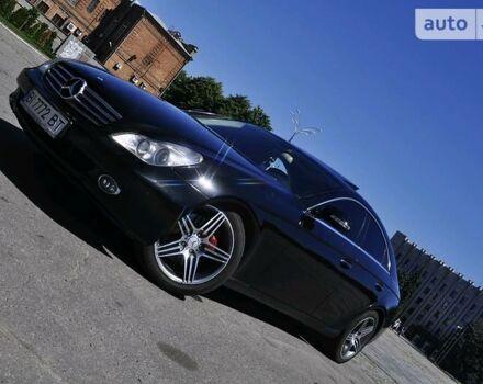 Черный Мерседес ЦЛС 350, объемом двигателя 3.5 л и пробегом 117 тыс. км за 15000 $, фото 1 на Automoto.ua