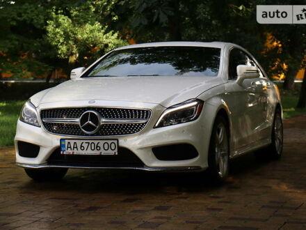 Белый Мерседес ЦЛС 400, объемом двигателя 3 л и пробегом 38 тыс. км за 36900 $, фото 1 на Automoto.ua