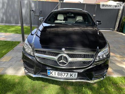 Черный Мерседес ЦЛС 400, объемом двигателя 3 л и пробегом 75 тыс. км за 35000 $, фото 1 на Automoto.ua