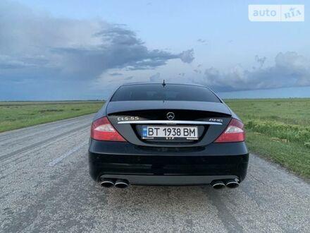 Чорний Мерседес ЦЛС 55 АМГ, об'ємом двигуна 5.4 л та пробігом 154 тис. км за 18000 $, фото 1 на Automoto.ua