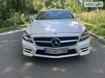 Белый Мерседес ЦЛС 550, объемом двигателя 4.7 л и пробегом 82 тыс. км за 32900 $, фото 1 на Automoto.ua