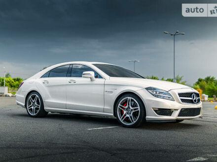Білий Мерседес ЦЛС 63 АМГ, об'ємом двигуна 5.5 л та пробігом 100 тис. км за 43900 $, фото 1 на Automoto.ua