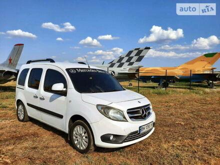 Білий Мерседес Citan пас., об'ємом двигуна 1.5 л та пробігом 213 тис. км за 9599 $, фото 1 на Automoto.ua