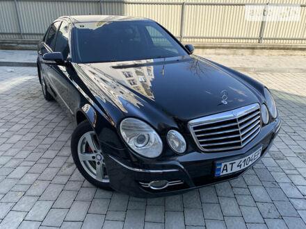 Чорний Мерседес E 200, об'ємом двигуна 1.8 л та пробігом 154 тис. км за 11500 $, фото 1 на Automoto.ua