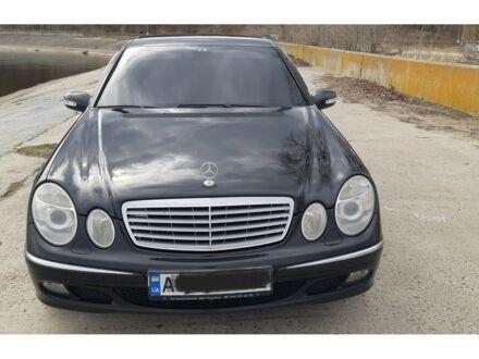 Чорний Мерседес Є 211, об'ємом двигуна 3.5 л та пробігом 320 тис. км за 10950 $, фото 1 на Automoto.ua
