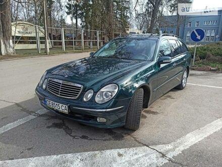 Зеленый Мерседес Е 320, объемом двигателя 3.2 л и пробегом 290 тыс. км за 8700 $, фото 1 на Automoto.ua