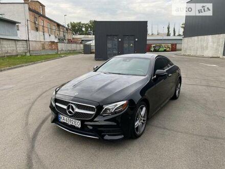 Черный Мерседес E 450, объемом двигателя 3 л и пробегом 39 тыс. км за 66500 $, фото 1 на Automoto.ua