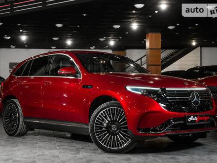 Красный Мерседес EQC, объемом двигателя 0 л и пробегом 6 тыс. км за 81680 $, фото 1 на Automoto.ua
