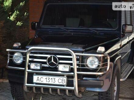 Черный Мерседес Г 280, объемом двигателя 2.8 л и пробегом 160 тыс. км за 12300 $, фото 1 на Automoto.ua