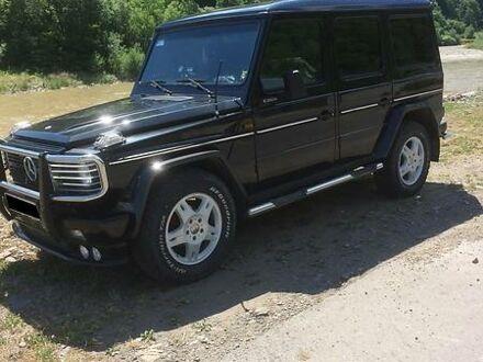Чорний Мерседес Г 300, об'ємом двигуна 2.9 л та пробігом 147 тис. км за 15500 $, фото 1 на Automoto.ua
