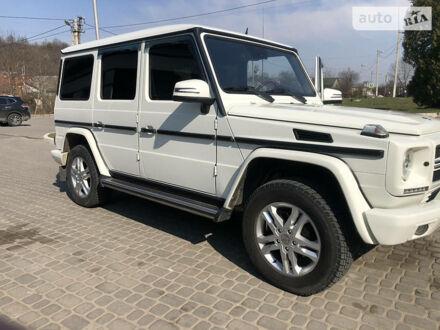 Белый Мерседес Г 350, объемом двигателя 3 л и пробегом 225 тыс. км за 45900 $, фото 1 на Automoto.ua