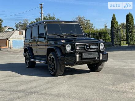 Черный Мерседес Г 350, объемом двигателя 3 л и пробегом 122 тыс. км за 64900 $, фото 1 на Automoto.ua