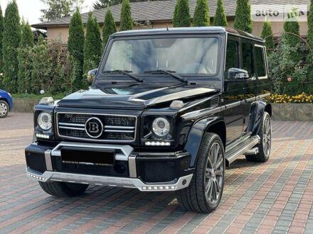 Черный Мерседес Г 350, объемом двигателя 3 л и пробегом 41 тыс. км за 110000 $, фото 1 на Automoto.ua