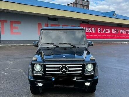 Чорний Мерседес Г 400, об'ємом двигуна 4 л та пробігом 220 тис. км за 25750 $, фото 1 на Automoto.ua