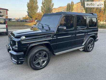 Черный Мерседес Г 400, объемом двигателя 4 л и пробегом 247 тыс. км за 31000 $, фото 1 на Automoto.ua