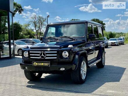 Чорний Мерседес Г 400, об'ємом двигуна 4 л та пробігом 303 тис. км за 30450 $, фото 1 на Automoto.ua
