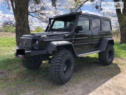 Черный Мерседес Г 400, объемом двигателя 4 л и пробегом 197 тыс. км за 67000 $, фото 1 на Automoto.ua