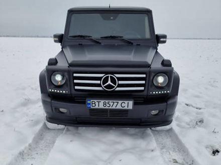 Черный Мерседес Г 400, объемом двигателя 4 л и пробегом 160 тыс. км за 25000 $, фото 1 на Automoto.ua