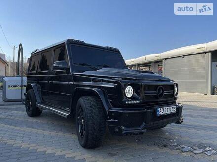 Черный Мерседес Г 500, объемом двигателя 5 л и пробегом 230 тыс. км за 24999 $, фото 1 на Automoto.ua