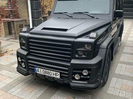 Черный Мерседес Г 500, объемом двигателя 5 л и пробегом 2 тыс. км за 36000 $, фото 1 на Automoto.ua